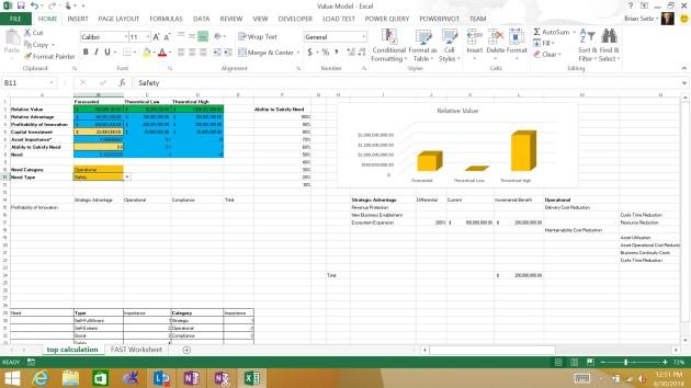 Value Calculations